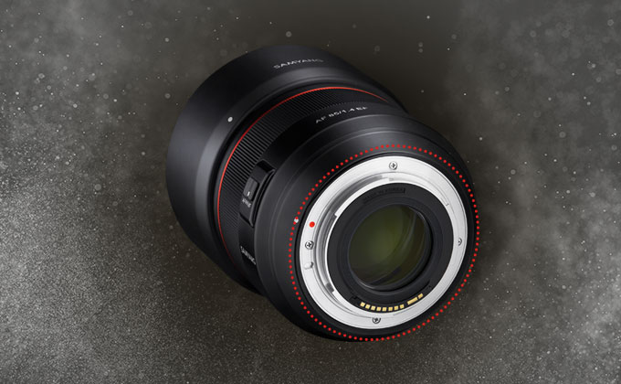 Samyang AF 85mm F1.4 EF Lens (for Canon EF) - Weather Sealing