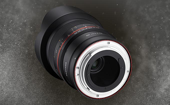Samyang 森養 14mm F2.8 RF 鏡頭 (Canon EOS RF 接口) - 針對灰塵及濕氣的強密封性能