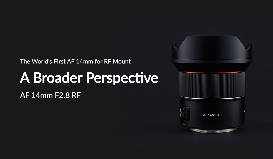 Samyang AF 14mm F2.8 RF Auto Focus Lens (for Canon RF)
