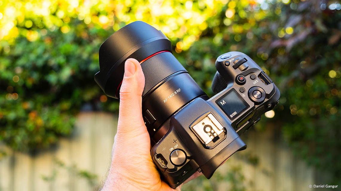 Samyang AF 14mm F2.8 RF Auto Focus Lens (for Canon RF) - Compact Lens Design Optimized for Mirrorless Cameras