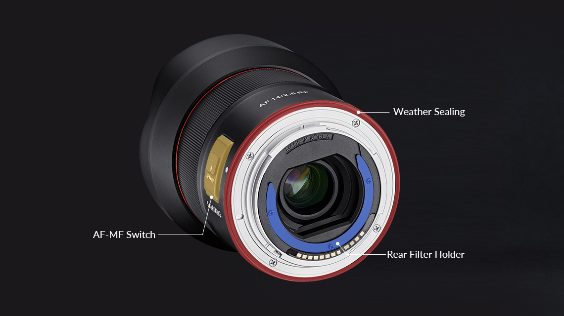 Samyang AF 14mm F2.8 RF Auto Focus Lens (for Canon RF) - Enhanced User Experience
