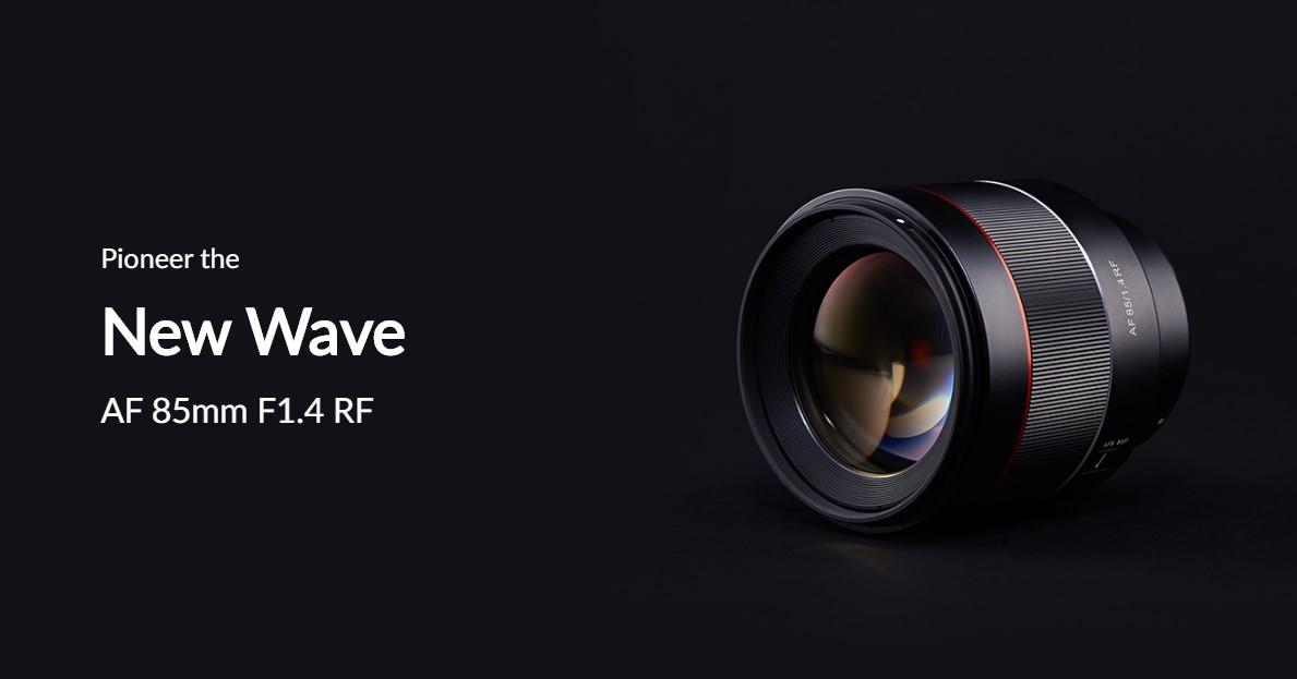 Samyang AF 85mm F1.4 RF Lens (for Canon RF)